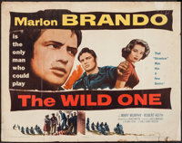 "The Wild One (Columbia, 1953). Half Sheet (22"" X 28"") Style B. Exploitation"