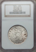 Bust Half Dollars, 1825 50C AU58 NGC. O-113. NGC Census: (212/309). PCGS Population(175/239). Mintage: 2,900,000. Numismedia Wsl. Price for p...