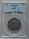 Large Cents: , 1812 1C Large Date VF35 PCGS. PCGS Population (12/34). NumismediaWsl. Price for problem free NGC/PCGS ...