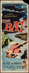 "Movie Posters:Horror, The Bat (Allied Artists, 1959). Insert (14"" X 36""). Horror.. ..."