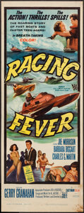 "Movie Posters:Sports, Racing Fever (Allied Artists, 1964). Insert (14"" X 36""). Sports.. ..."