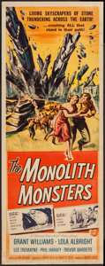 """Movie Posters:Science Fiction, The Monolith Monsters (Universal International, 1957). Insert (14""""X 36""""). Science Fiction.. ..."""