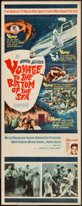 "Movie Posters:Adventure, Voyage to the Bottom of the Sea (20th Century Fox, 1961). Insert(14"" X 36""). Adventure.. ..."