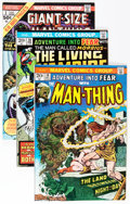 Bronze Age (1970-1979):Horror, Fear/Man-Thing Group (Marvel, 1973-81) Condition: Average NM-....(Total: 18 Comic Books)