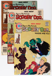 Scooby Doo, Where Are You? Group (Charlton, 1975-76) Condition: Average VF/NM.... (Total: 9 Comic Books)