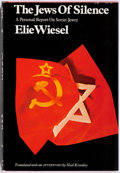 Books:World History, Elie Wiesel. INSCRIBED. The Jews of Silence. A Personal Report on Soviet Jewry. Holt, Rinehart and Winston, 1966...