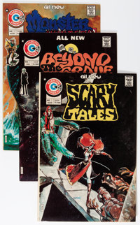 Charlton Bronze Age Horror Savannah pedigree Group (Charlton, 1972-79) Condition: Average VF/NM.... (Total: 76 Comic Boo...