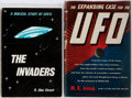Books:Metaphysical & Occult, Two Books on UFOs including: M. K. Jessup. The Expanding Case for the UFO. The Citadel Press, 1957. First e... (Total: 2 Items)
