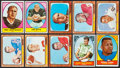 Football Cards:Sets, 1966 Topps and 1967 Topps Football Near Set Pair (2). ...