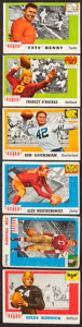 Football Cards:Sets, 1955 Topps All-American Football Partial Set (48/100). ...