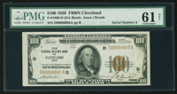 Low Serial Number D00000002A Fr. 1890-D $100 1929 Federal Reserve Bank Note. PMG Uncirculated 61 Net