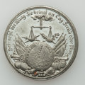 Betts Medals, Betts-560. 1778 German Peace Hopes. White Metal (tin), with copperplug. Mint State....
