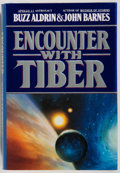 Books:Americana & American History, [Spaceflight, Moonwalker]. Buzz Aldrin and John Barnes. INSCRIBED.Encounter with Tiber. Warner Books, [1996]. First...