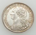 Betts Medals, Betts-558 variant. 1777 France Aids America. Silver. XF. ...