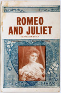 Books:Mystery & Detective Fiction, [Dime Novel]. William Black. Romeo and Juliet. Max Stein,[ca. 1900]. Atlantic Library edition. Publisher's illustra...