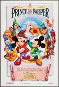 """Movie Posters:Animation, The Prince and the Pauper (1990) (Buena Vista, 1990). One Sheet(27"""" X 40"""") DS. Animation.. ..."""