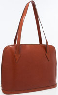 Luxury Accessories:Bags, Louis Vuitton Fawn Epi Leather Lussac Tote Bag. ...