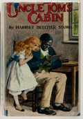 """Books:Literature 1900-up, Harriet Beecher Stowe. Uncle Tom's Cabin. """"The Boy's OwnPaper"""" Office, [n.d., circa 1929]. Edited and slightly ..."""