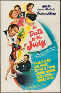 "A Date with Judy (MGM, 1948). One Sheet (27"" X 41""). Comedy"