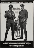 "Movie Posters:War, Where Eagles Dare (MGM, 1968). Uncut Pressbook (20 Pages, 12"" X17"") & Herald (8.5"" X 11""). War.. ... (Total: 2 Items)"