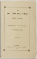 Books:Fiction, George Cruikshank, illustrator. The Bee and the Wasp. A Fable inVerse. Charles Tilt, 1832. First edition. With ...