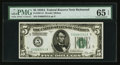 Small Size:Federal Reserve Notes, Fr. 1951-E $5 1928A Federal Reserve Note. PMG Gem Uncirculated 65 EPQ.. ...