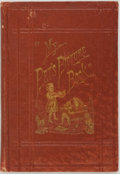 Books:Children's Books, [Americana]. My Pet's Picture Book. American Tract Society,1873. First edition. Illustrated. Publisher's origin...