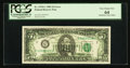 Error Notes:Offsets, Fr. 1978-C $5 1985 Federal Reserve Note. PCGS Very Choice New 64.. ...