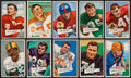 Football Cards:Sets, 1952 Bowman Football High Number Partial Run (40 Different). ...