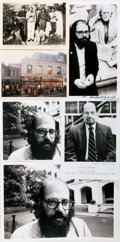 Autographs:Authors, Allen Ginsberg Photograph Lot. Various sizes. Includes fourpublicity photos, one signed by Ginsberg, and two Ginsberg-relat...