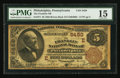 National Bank Notes:Pennsylvania, Philadelphia, PA - $5 1882 Brown Back Fr. 477 The Franklin NB Ch. #(E)5459. ...