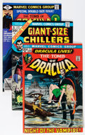 Bronze Age (1970-1979):Horror, Tomb of Dracula Group (Marvel, 1972-79) Condition: AverageVG/FN.... (Total: 34 Comic Books)