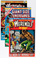 Bronze Age (1970-1979):Horror, Werewolf by Night Group (Marvel, 1972-75) Condition: Average VF....(Total: 17 Comic Books)