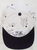 Autographs:Celebrities, [Dallas Cowboys]. Baseball Cap Signed by Thirteen Players and CoachTom Landry. Adjustable cotton/poly hat of unknown vintag...