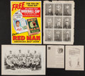 Baseball Collectibles:Others, 1874 Harper's Weekly Baseball Pages (2) and More....