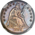 Proof Seated Half Dimes, 1859 H10C Transitional PR63 NGC. Judd-232, Pollock-279, Low R.7....
