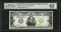 Fr. 2231-B $10000 1934 Federal Reserve Note. PMG Uncirculated 62
