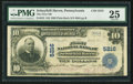 National Bank Notes:Pennsylvania, Schuylkill Haven, PA - $10 1902 Plain Back Fr. 632 The First NB Ch.# 5216. ...