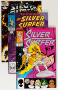 Modern Age (1980-Present):Superhero, Silver Surfer/Quasar Short Box Group (Marvel, 1982-96)....