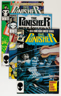 Modern Age (1980-Present):Superhero, The Punisher Related Short Box Group (Marvel, 1986-94) Condition:Average NM....