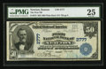National Bank Notes:Kansas, Newton, KS - $50 1902 Plain Back Fr. 675 The First NB Ch. # 2777. ...