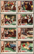 """Movie Posters:Bad Girl, Date Bait (Film Group, 1960). Lobby Card Set of 8 (11"""" X 14""""). BadGirl.. ... (Total: 8 Items)"""
