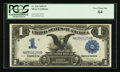Large Size:Silver Certificates, Fr. 228 $1 1899 Silver Certificate PCGS Very Choice New 64.. ...
