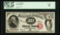 Large Size:Legal Tender Notes, Fr. 147 $20 1880 Legal Tender PCGS Very Fine 20.. ...