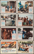 """Movie Posters:Western, Major Dundee (Columbia, 1965). Lobby Card Set of 8 (11"""" X 14""""). Western.. ... (Total: 8 Items)"""