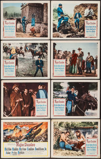 "Major Dundee (Columbia, 1965). Lobby Card Set of 8 (11"" X 14""). Western. ... (Total: 8 Items)"