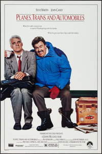 """Planes, Trains and Automobiles & Others Lot (Paramount, 1987). One Sheets (4) (26.75"""" X 39.75"""" & 27&qu..."""