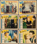 "Movie Posters:Comedy, Little Miss Marker (Paramount, 1934 & R-1936). Lobby Cards (6) (11"" X 14""). Comedy.. ... (Total: 6 Items)"