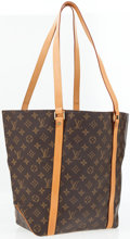 Luxury Accessories:Accessories, Louis Vuitton Classic Monogram Canvas Sac Shopping Tote Bag. ...