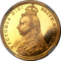 Great Britain, Great Britain: Victoria gold Proof Sovereign 1887,...